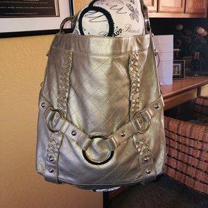 Preloved Isabelle Fiore gunmetal shoulder bag